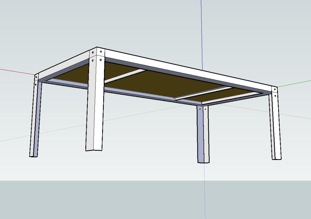 Presentation creation meuble metal acier bois sur mesure - Fabrication d un meuble en bois ...