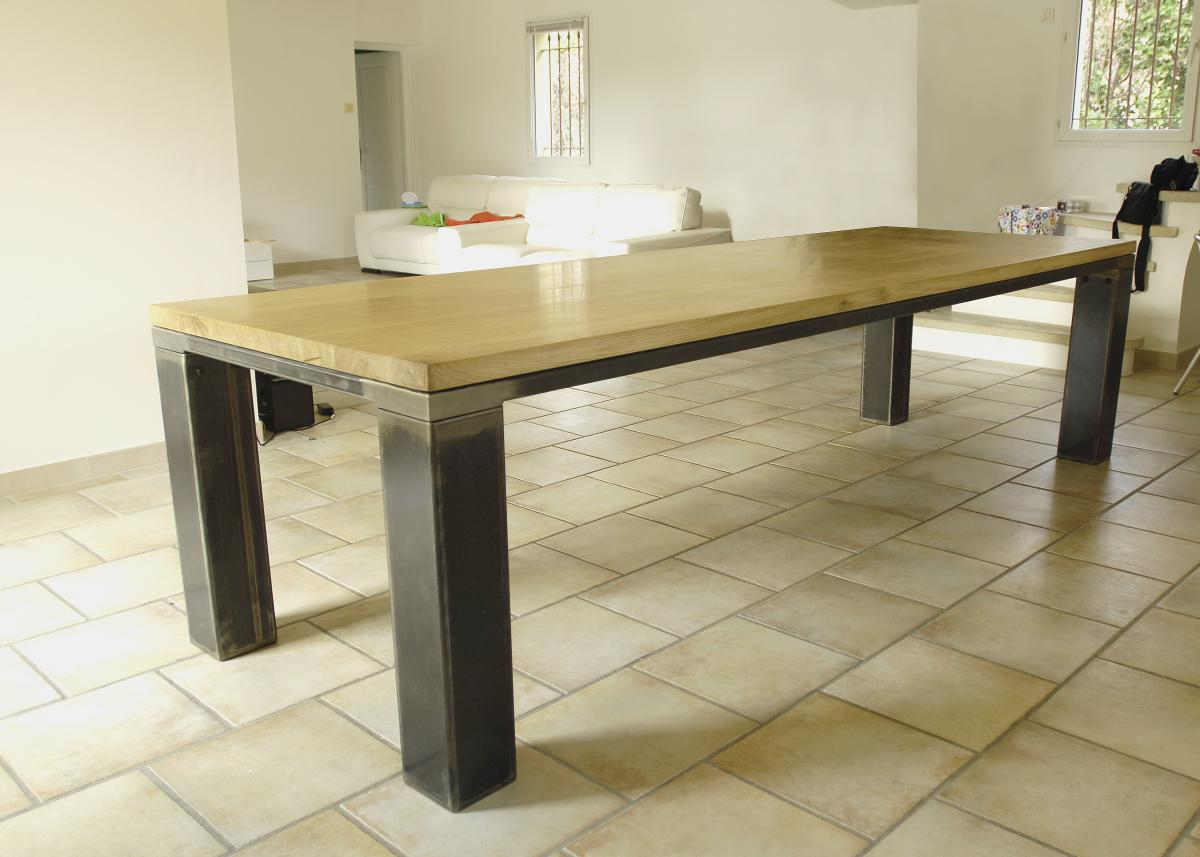 Table chene massif - Table en chene massif prix ...